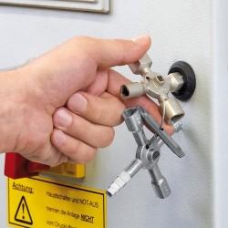 Knipex 001101 Clé jumelée à huit faisceaux Twin Key E 452119