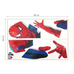 Hero Spiderman Grand sticker mural Spiderman pour chambre d'enfant