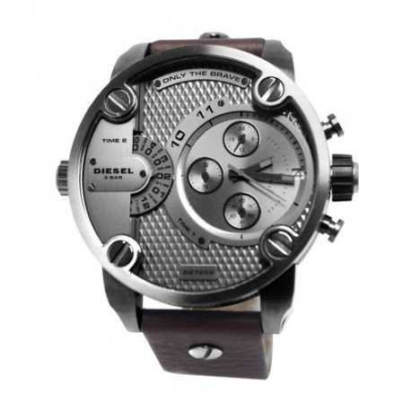 Diesel - DZ7258 - Montre Homme - Quartz Chronographe - Bracelet Cuir Marron
