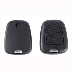 Coque concu pour CLE telecommande Peugeot 107 207 307 Citroen C1 C2 C3 C4 C5 fob case remplacement