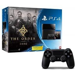 Console PS4 500 Go Noire + The Order 1886 + 2ème manette PS4 Dual Shock 4