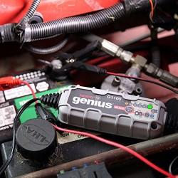 NOCO G1100EU Genius Marche/Arrêt pour les Batteries AGM et EFB, 6/12 V, 1.1 A
