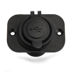 CARCHET® Adaptateur Prise 2 Ports USB Allume Cigare Chargeur 12V Pour Auto Voiture
