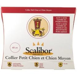 Scalibor collier 48 cm anti tiques, moustiques, phlébotomes pour petit et chien moyen