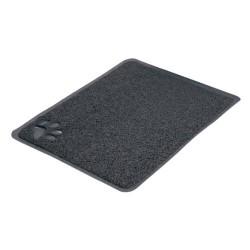 Trixie Tapis pour Bac à Litière Anthracite 37 × 45 cm PVC pour Chat