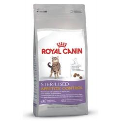 Royal Canin/Sterilised Appetite Control sac de 4 kg/Chat stérilisé quémandeur 1 à 7 Ans