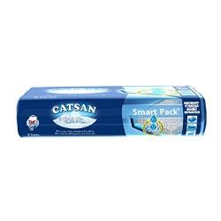 Catsan Smart Pack Kit Litière Catsan Hygiène Plus & Couche Absorbante, 4 Litres- Lot de 2