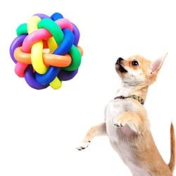 Huayang Coloré jouet balle de caoutchouc animal balle jouet(9-9.5CM)