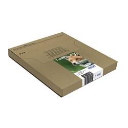 Epson T1285 Cartouche d'encre d'origine DURABrite Ultra Multipack Noir, Cyan, Magenta, Jaune [Emballage « Déballer sans s'énerve