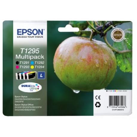 Epson T1295 Cartouche d'encre d'origine DURABrite Ultra Multipack Noir, Cyan, Magenta, Jaune