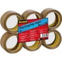 Scotch BP540  Ruban adhésif d'emballage en polypropylène 48 microns 50 x 66 m Lot de 6