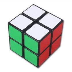 Lanlan 2x2 Noir Cube de vitesse Cube Magique