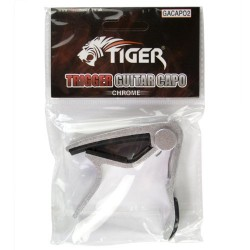 Tiger GACAPO2 Capo de Guitare - Chrome