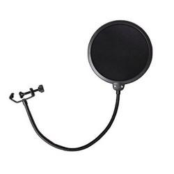 SuntekStore Online Filtre anti-vent et anti-pop pour microphone avec support pivotant 360° flexible