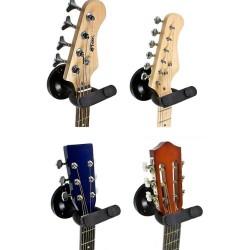 Tiger GST42-BK Support Mural pour Guitare - Noir