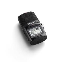 Zoom H2n Enregistreur portable avec Carte SD 2 Go Noir