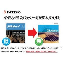 D'Addario Cordes en bronze phosphoreux pour guitare acoustique D'Addario EJ16, Light, 12-53