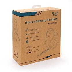 HUHD 2014 Date prime Noise Cancelling filaire Gaming Headset / casque pour PS4, PS3, PS2 et Xbox 360, PC avec une rotation de ty