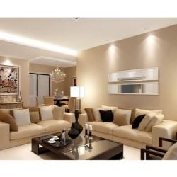LE Ampoule LED GU10 6W, équivalant à une ampoule halogène 75W,530lm, Blanc lumière du jour, Pack de 5 Unités