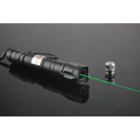Militaire imperm able laser lampe de poche pointeur laser - Super lampe de poche ...