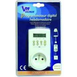 Voltman DIO041030 Prise programmable digitale hebdomadaire