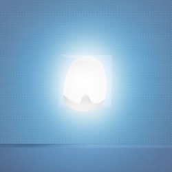 Pabobo Veilleuse Automatique - Bleue