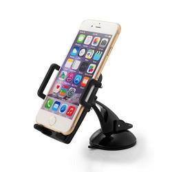 Taotronics support smartphone pare-brise et tableau de bord , support voiture universl avec ventouse extra forte rotation 360° -
