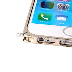 "Bumper iPhone 6 , EnGive Ultra-mince Bumper en Aluminium Métal Housse coque pour iPhone 6 (4.7 ""), Or"