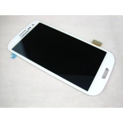 Samsung Galaxy S3 SIII GT-i9300 ~ White Full LCD + Touch Screen Tactil Ecran Assembly Together ~ Mobile Phone Repair Part Replac