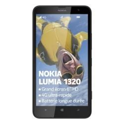 Nokia Lumia 1320 Smartphone débloqué 4G (Ecran: 6 pouces - 8 Go - Windows Phone 8) Noir