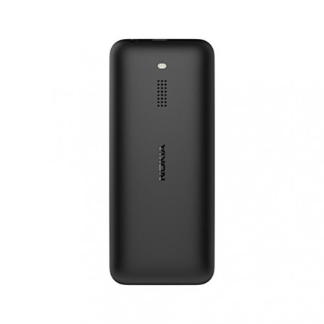 Nokia 130 Téléphone double SIM, MicroSD, 26 jours en mode veille, noir