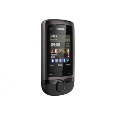 Nokia C2-05 Smartphone débloqué (Ecran: 2 pouces - Appareil photo VGA - micro-USB 2.0) Gris (Import Europe)