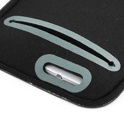 Noir Brassard Armband Sport pour Nokia Lumia 1020 & 520 & 525 & 620 & 625 & 630 & 635 & 720 & 820 & 900 & 920 & 925 & 928 & 930