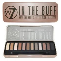 w7 In The Buff Palette Maquillage de 12 Fards à Paupières Effet Sophistiqué Naturel 141 g