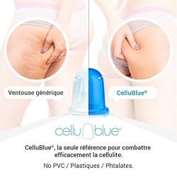 CelluBlue® - La Ventouse Anti Cellulite Révolutionnaire (promo lot de 2 aussi disponible sur la fiche)