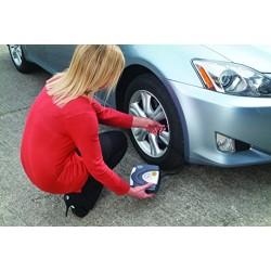 RING Mini compresseur d'air portable 12v gonfleur pneu