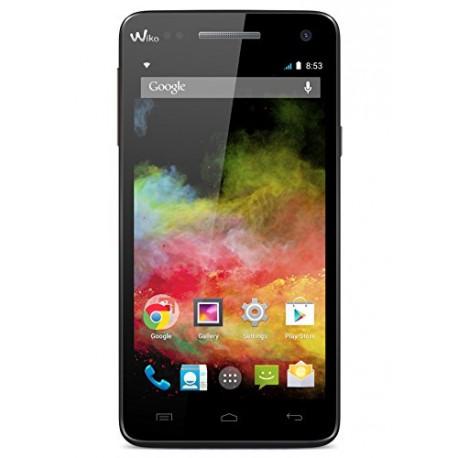 Wiko Rainbow Smartphone débloqué 4G (Ecran : 5 pouces - 8 Go - Simple SIM - Android 4.4 KitKat) Noir