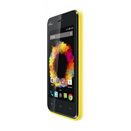 Wiko Sunset Smartphone débloqué 3G+ (Ecran : 4 pouces - 4 Go - Android 4.4 KitKat) Jaune