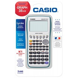 Casio Graph 35+E Calculatrice graphique USB