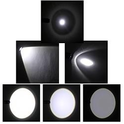 Lampe de poche, IDACA Torche à LED Cree XM-L T6 LED de haute qualité Lampe torche LED 5 Modes