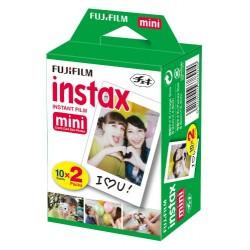 Fujifilm Pellicule Mini Instax 2 x 10 - pour mini caméra seulement 8.6 cm x 5.4 cm