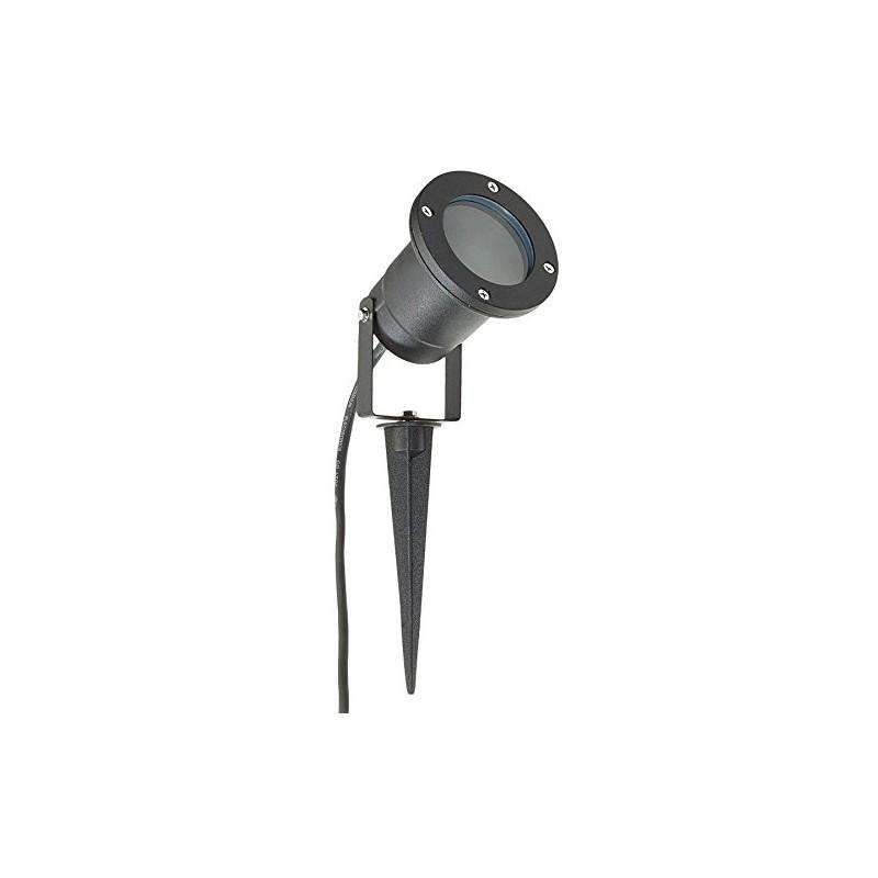 Long life lamp company lot de 4 clairage ext rieur for Eclairage exterieur noir