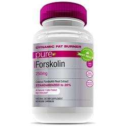 Forskoline 250mg - BRÛLEUR DE GRAISSES, Perte De Poids - 60 Capsules Végétales