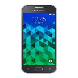 Samsung Galaxy Core Prime Smartphone débloqué 4G (Ecran : 4.5 pouces - 8 Go - Simple SIM - Android 4.4 KitKat) Noir (Gris Charco