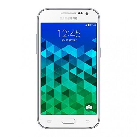 Samsung Galaxy Core Prime Smartphone débloqué 4G (Ecran : 4.5 pouces - 8 Go - Simple SIM - Android 4.4 KitKat) Blanc