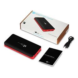 EC Technology® 2nd Gén 22400mAh Super-Capacité Batterie Externe 3 Ports USB Munie de la Technologie Intelligente Chargeur de Sec