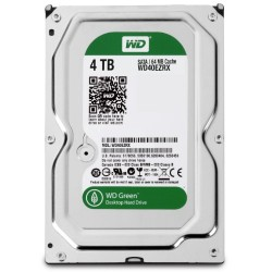 "WD Green 3.5"" Disque dur interne 4 To intellipower 64 Mo SATA 6Gb/s (WD40EZRX - bulk)"