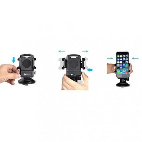 Taotronics®TT-SH08 support de voiture , support Auto Voiture Universel Ventouse Extra Forte avec rotation à 360° pour Fixation s