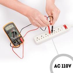 Etekcity® 830L Multimètre Numérique - Voltmètre, Ampèremètre, Ohmmeter - avec Ecran LCD Rétroéclairé